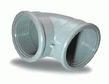 угловой отвод пластиковый с внутренней резьбой Arangul